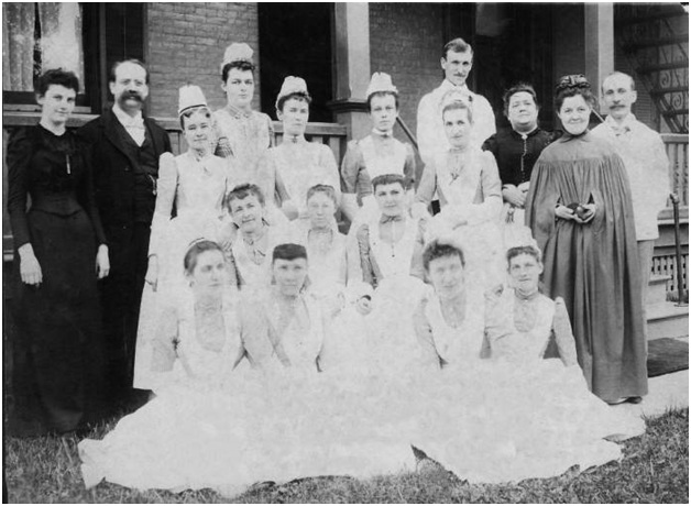 Rochester Homeopathic Hospital Graduates 1880's