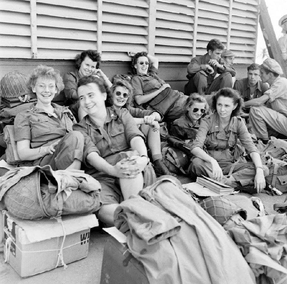 Army Nurses Guam
