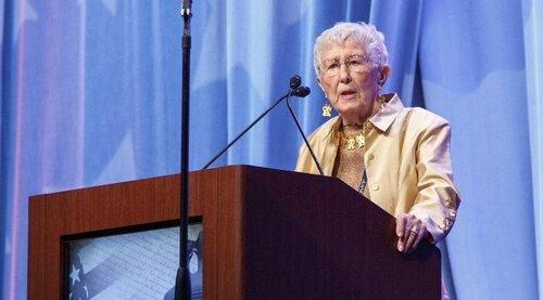 Loretta C. Ford, EdD, RN, PNP, FAAN, FAANP; Co-founder of the nurse practitioner role in 1965.