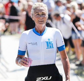JYTTE PEDERSEN, DK - Running half marathon and 1/4 triathlon at the age of 50+ is the best I've ever done for myself. But the most important decision throughout the process has been guided, lifted and helped by the most competent coaches, who so far check everything from the elite to retirees.