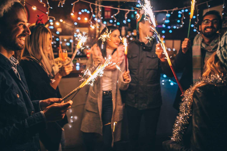 Staff enjoying Christmas party