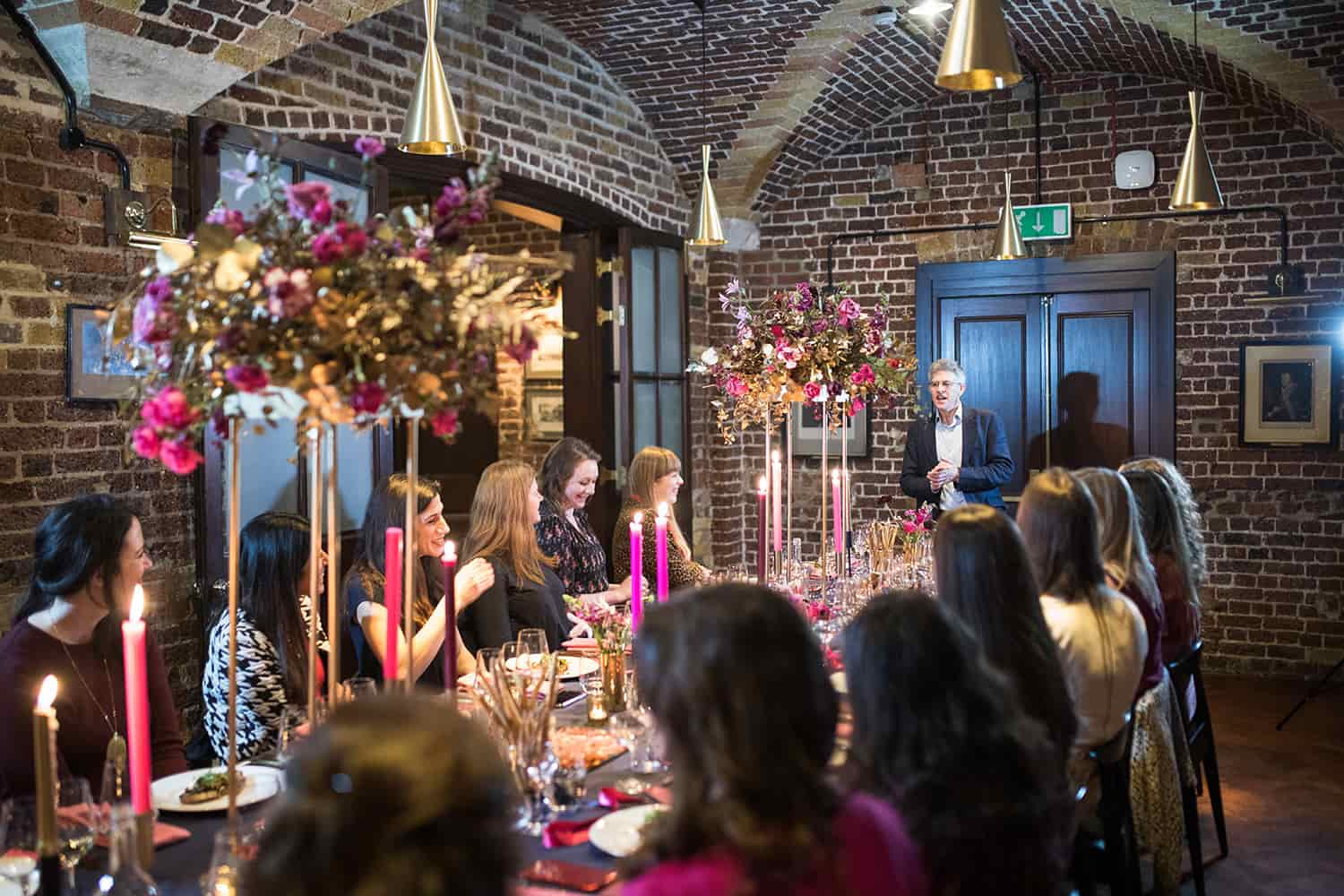 The Galentines event was held in the Wine Bar at 116 this year