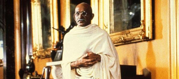 Ghandi filmed at 116 Pall Mall 1982
