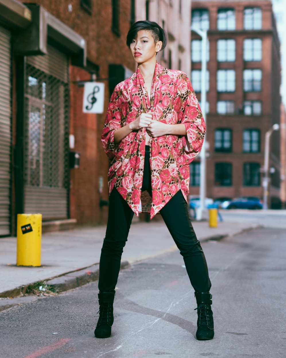 Kimono: The Amme Collection  Model: Joanne L.  Photography: Aaron.Hx
