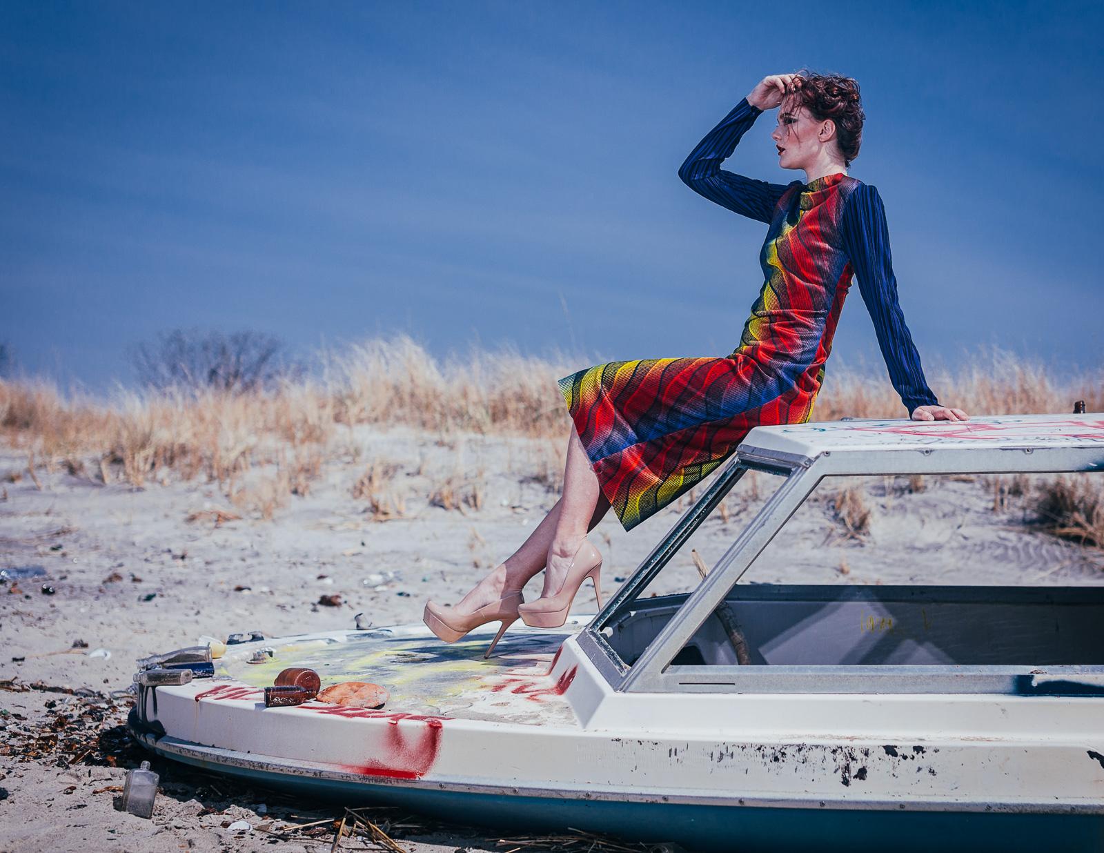 Dress: The Amme Collection  Model: Faye Foley  Photography: Aaron.Hx  MUA: Yumi Nagashima