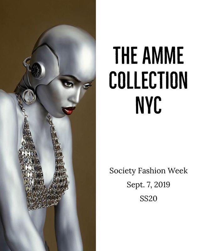 SS20  #theammecollection #societyfashionweek #ss20 #nyfw #style #elegance #fashionweek #fashiondesigner #nycdesigner #emergingdesigner #runway #fw19 #nycfw #creativity #collection