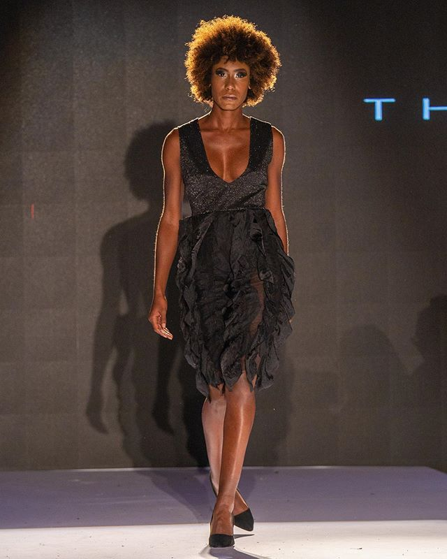 NYFW SS20 | TIME TRAVELERS Model: @b.kennedy_bre  Production: @thesocietyfashionweek Photography: @kaishotz  Hair and Makeup: @teammcosta  #theammecollection #fashionphotography  #naturalhairstyles #runwayfashion #fashiondesign #southafricanmodel #sheer #partydress #africanmodel #garmentconstruction #nyfw #ss20 #style #elegance #runwaymodel