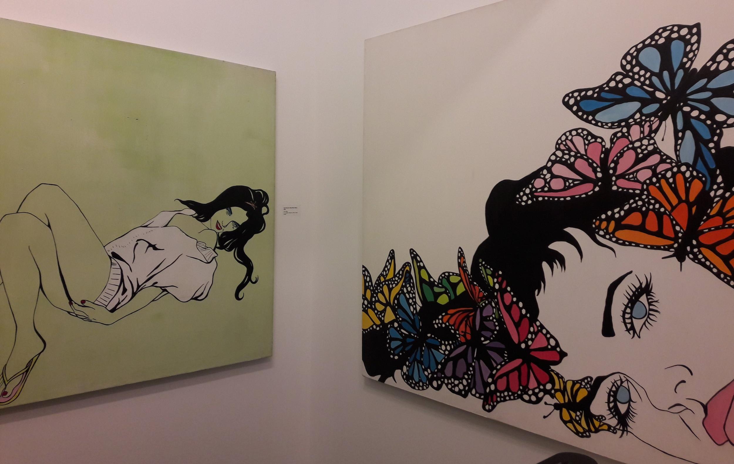 Works by Kim West