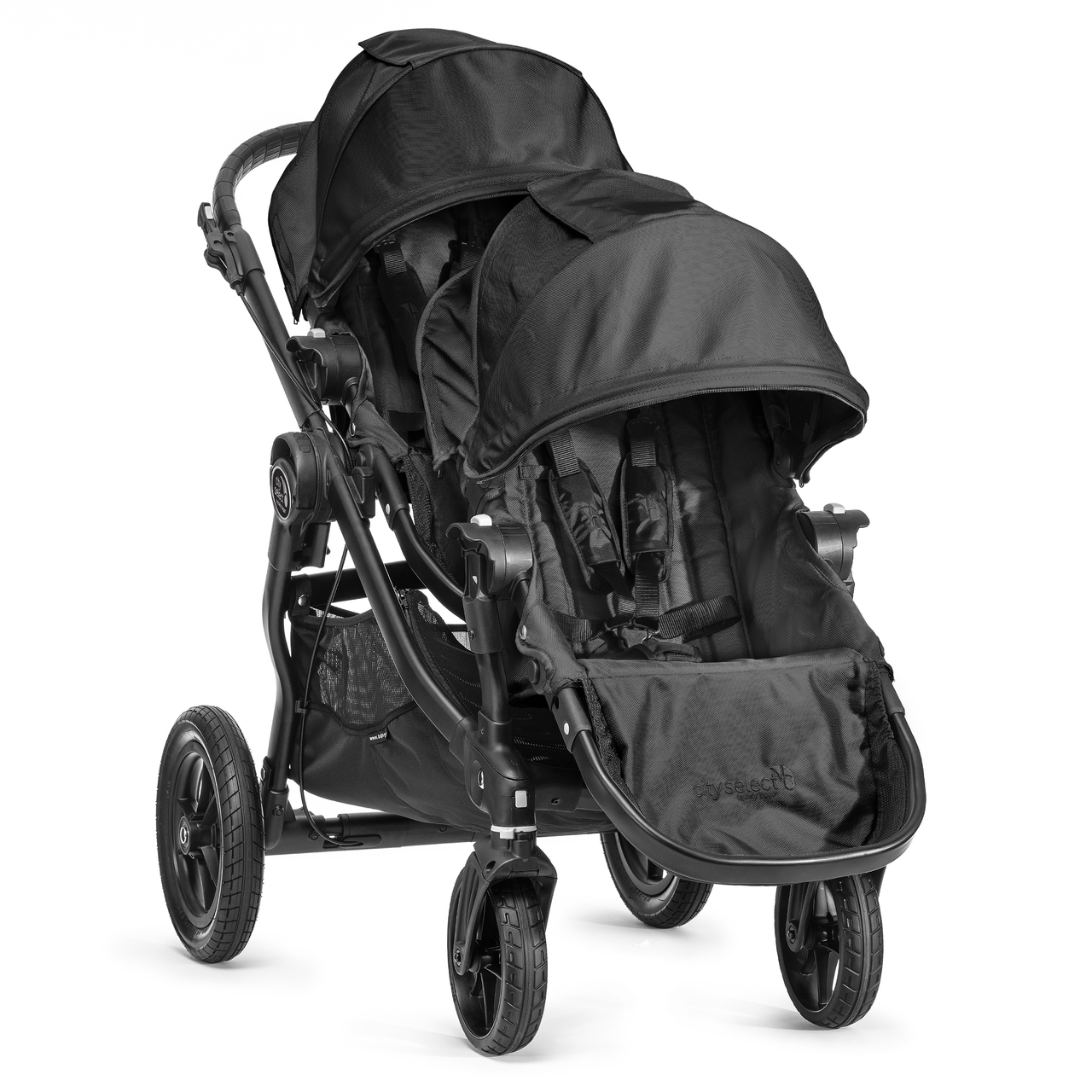 I got the City Select Baby Jogger double stroller second hand and I absolutely love it!