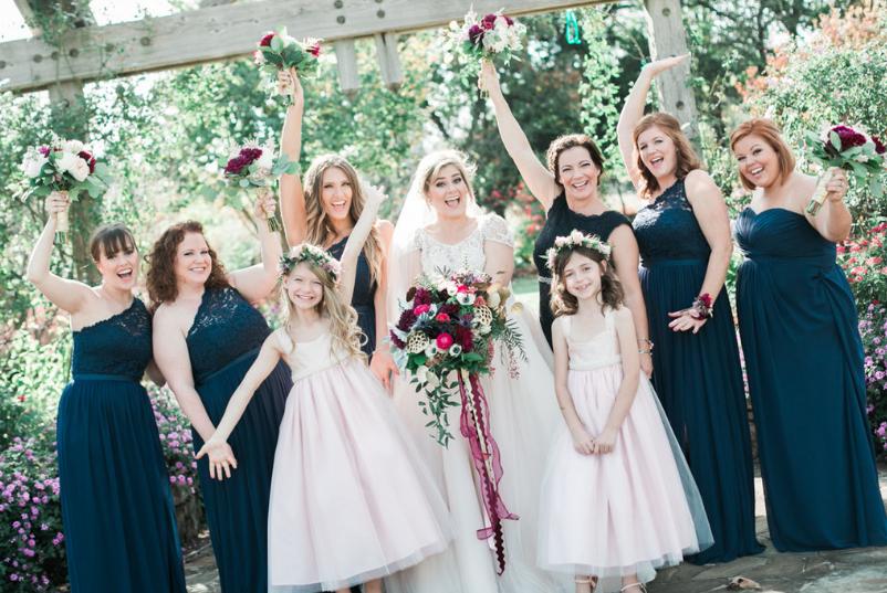 Bohemian Garden: Real Wedding
