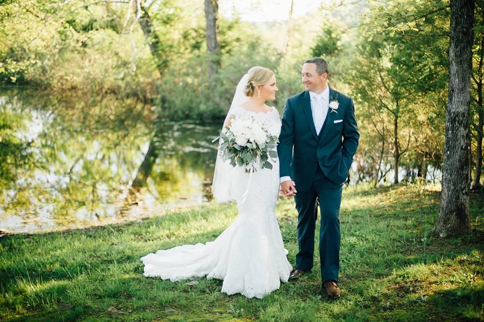 Natural Elegance: Real Wedding
