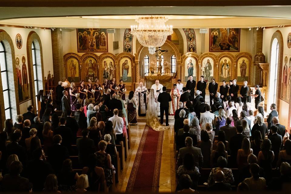 Greek-Indian Fusion: Real Wedding