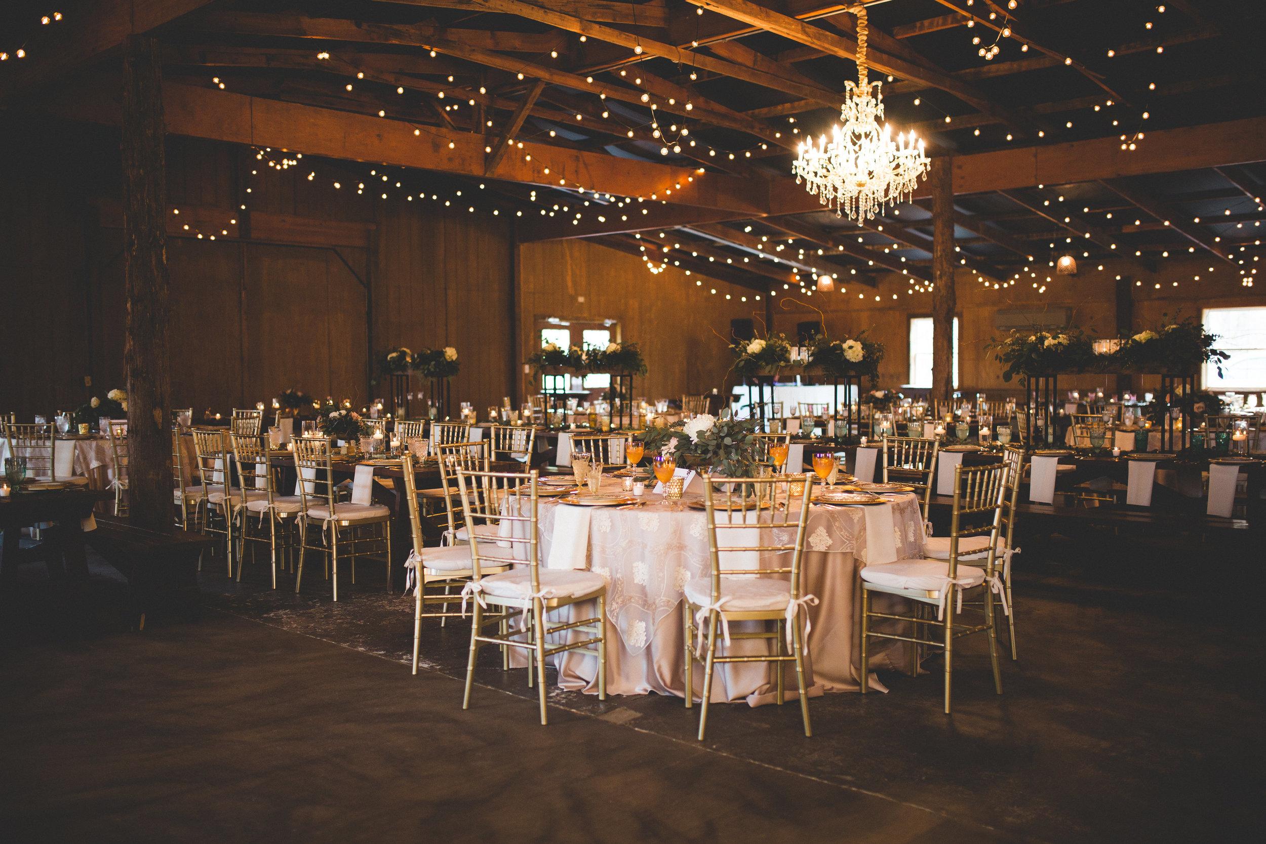 Rustic Dazzle: Real Wedding