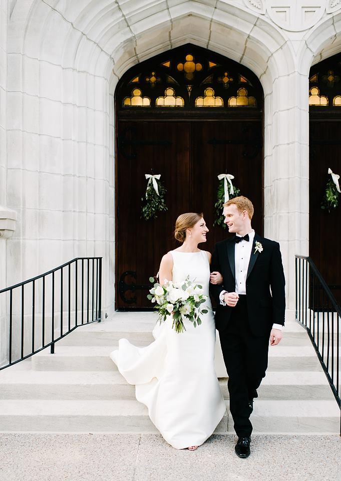 A Class Act: Real Wedding