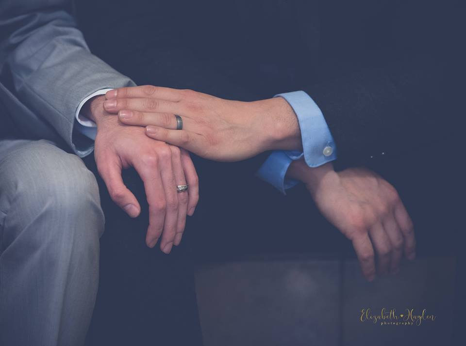 Structured Elegance: Real Wedding