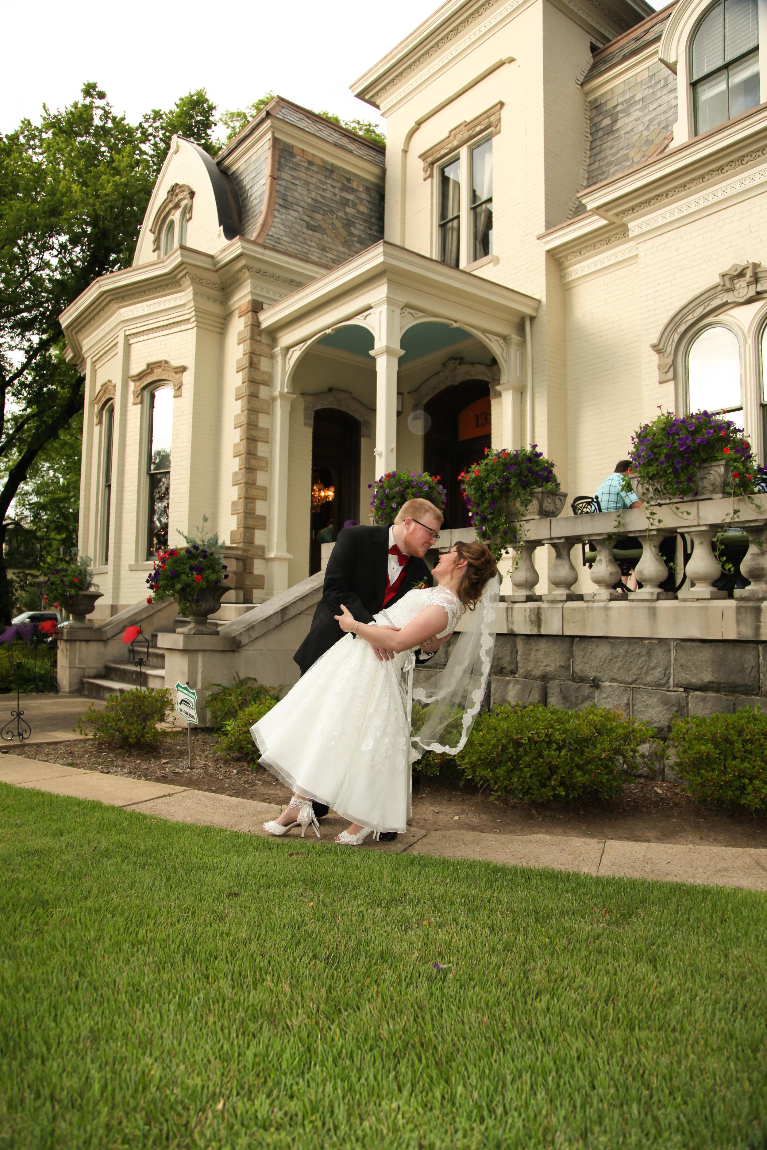 Tango at the Villa: Real Wedding