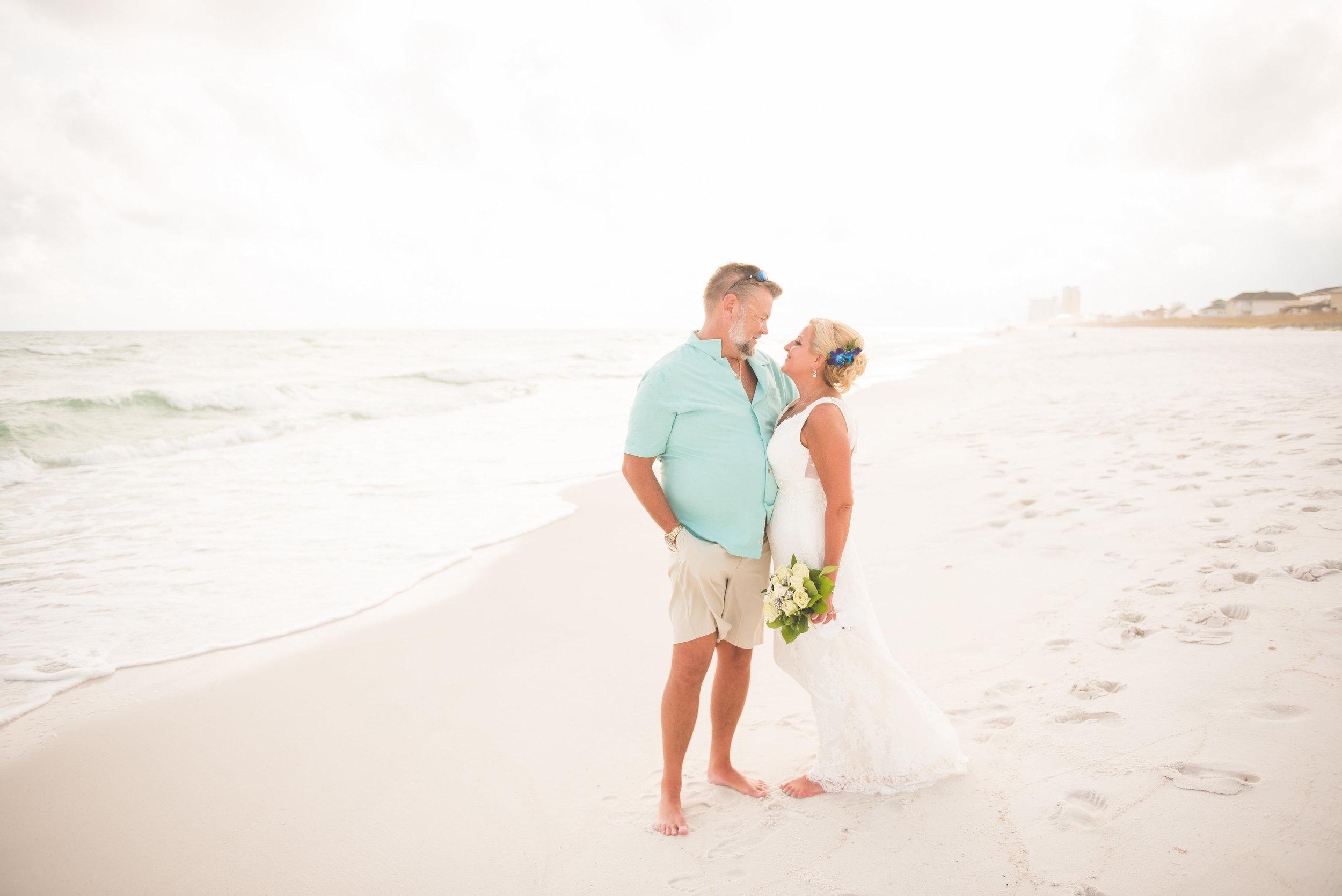 Pensacola Beach Fête: Real Wedding