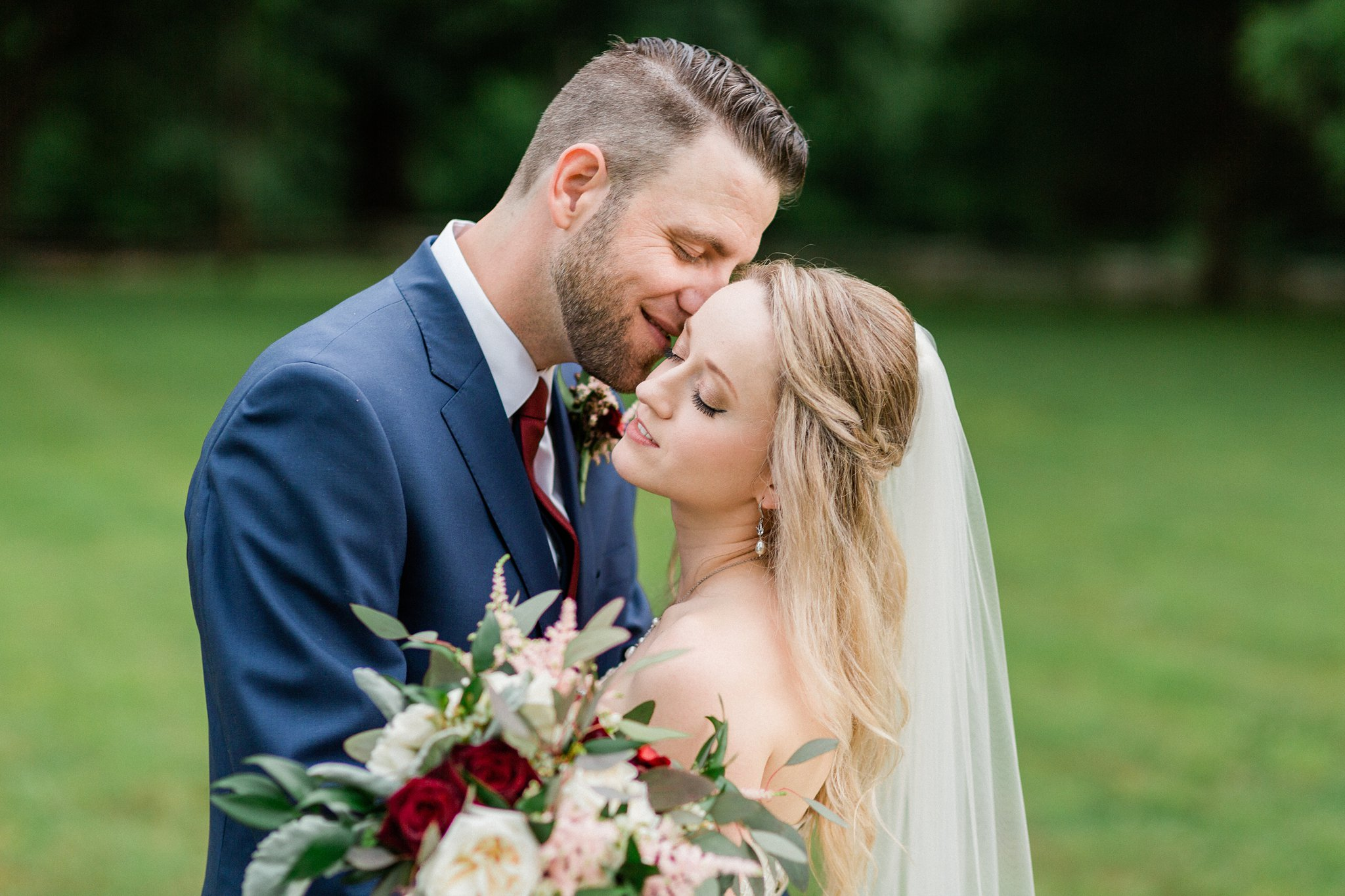 Cozy and Cute: Real Wedding
