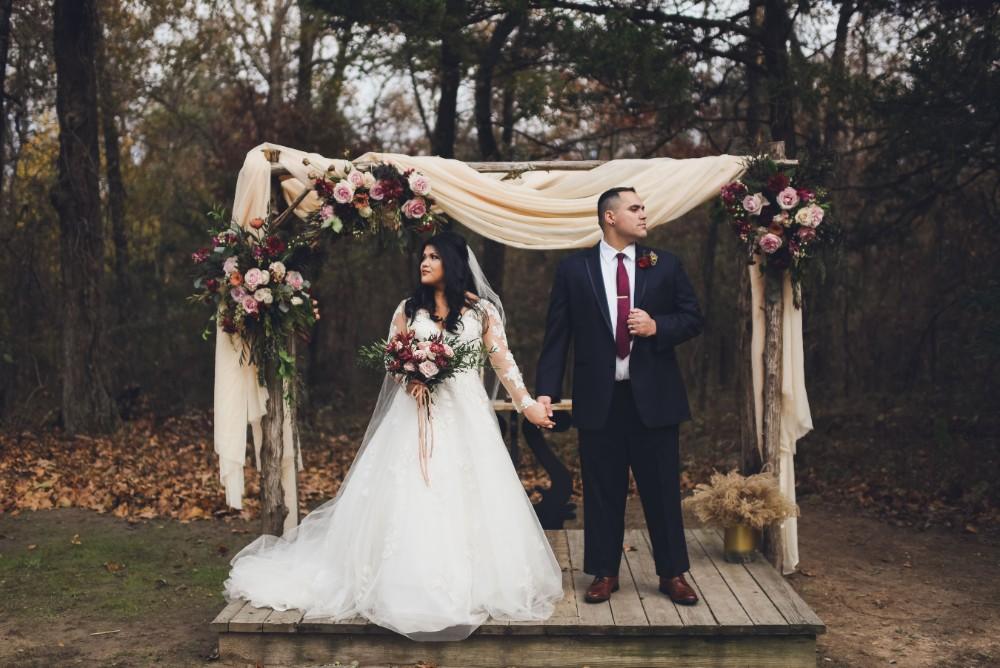 Rustic Glam: Real Wedding