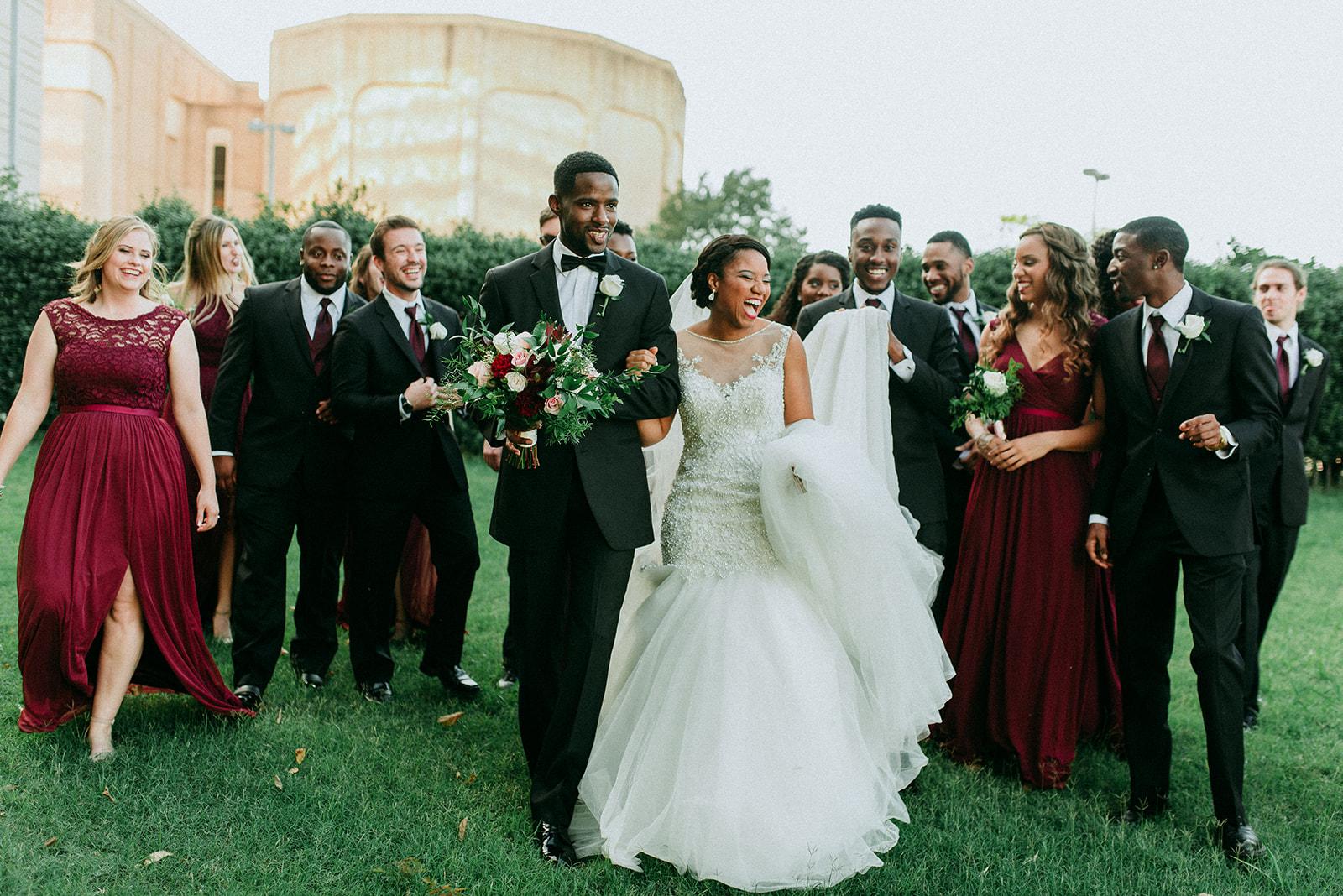 Industrial Allure: Real Wedding