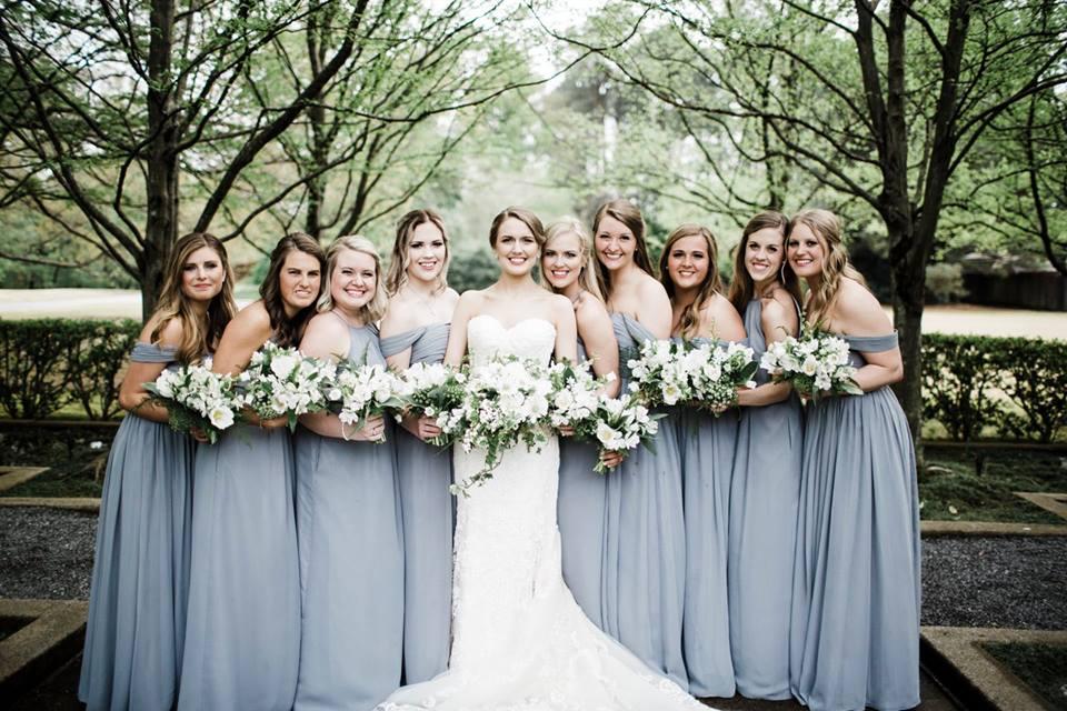 Memphis Botanic Garden: Real Wedding