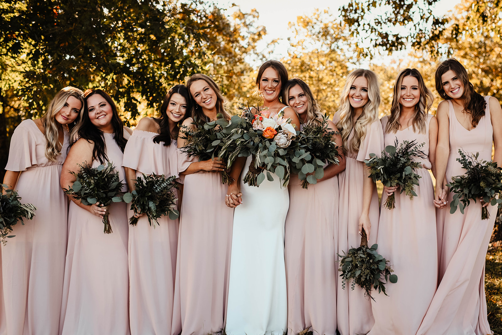 Understated Boho: Real Wedding