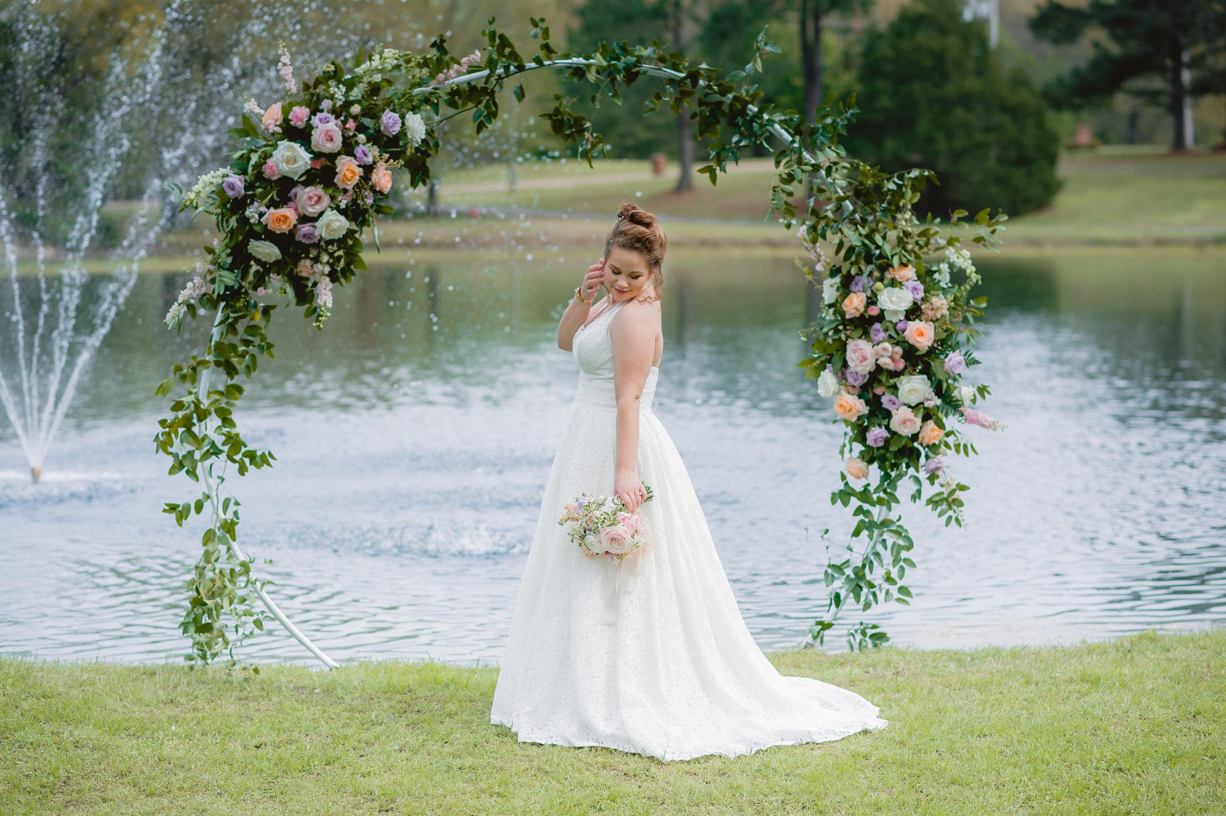 Crystal Pond Garden: Real Wedding