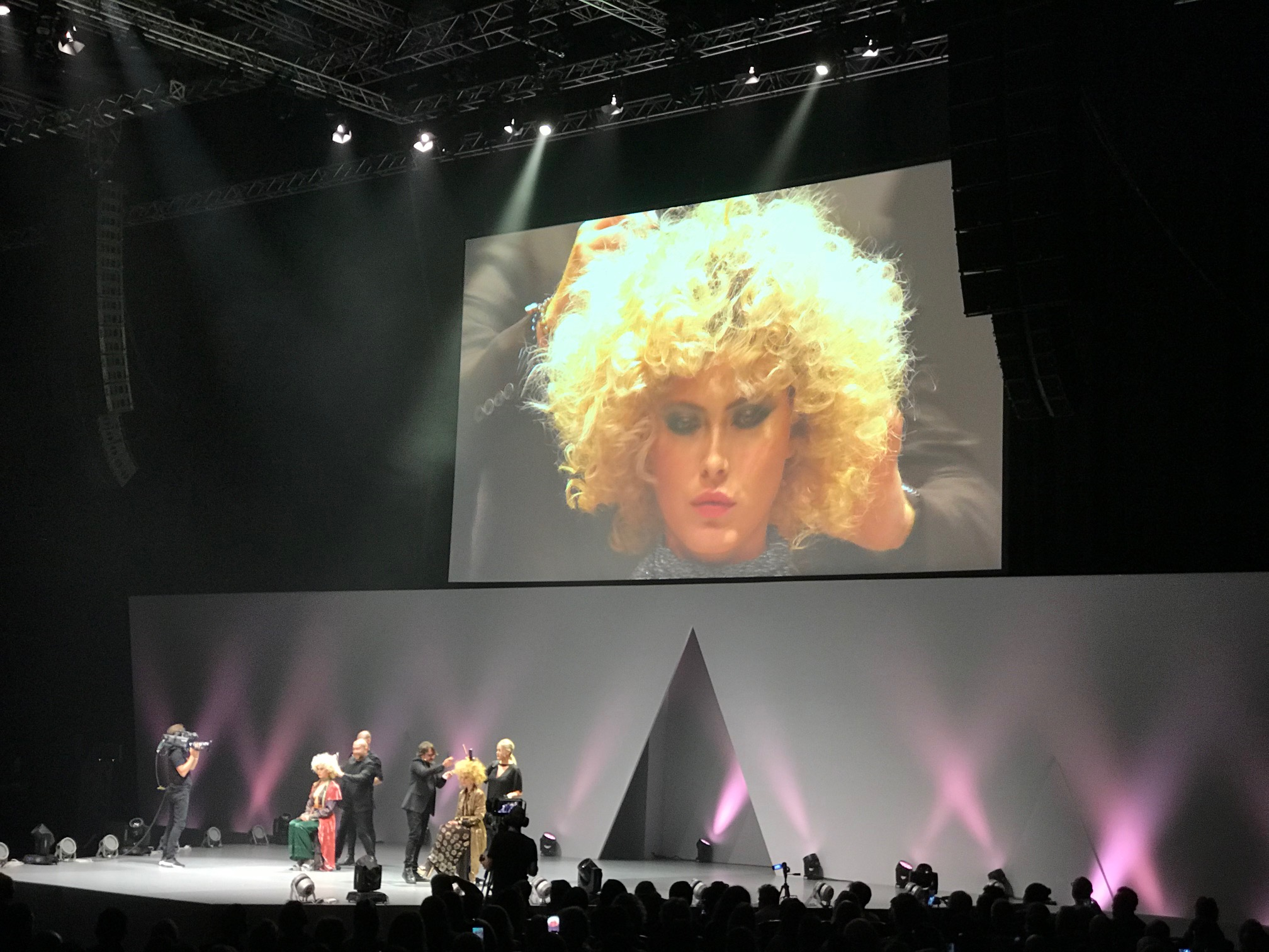 Hooker and Young at Salon International