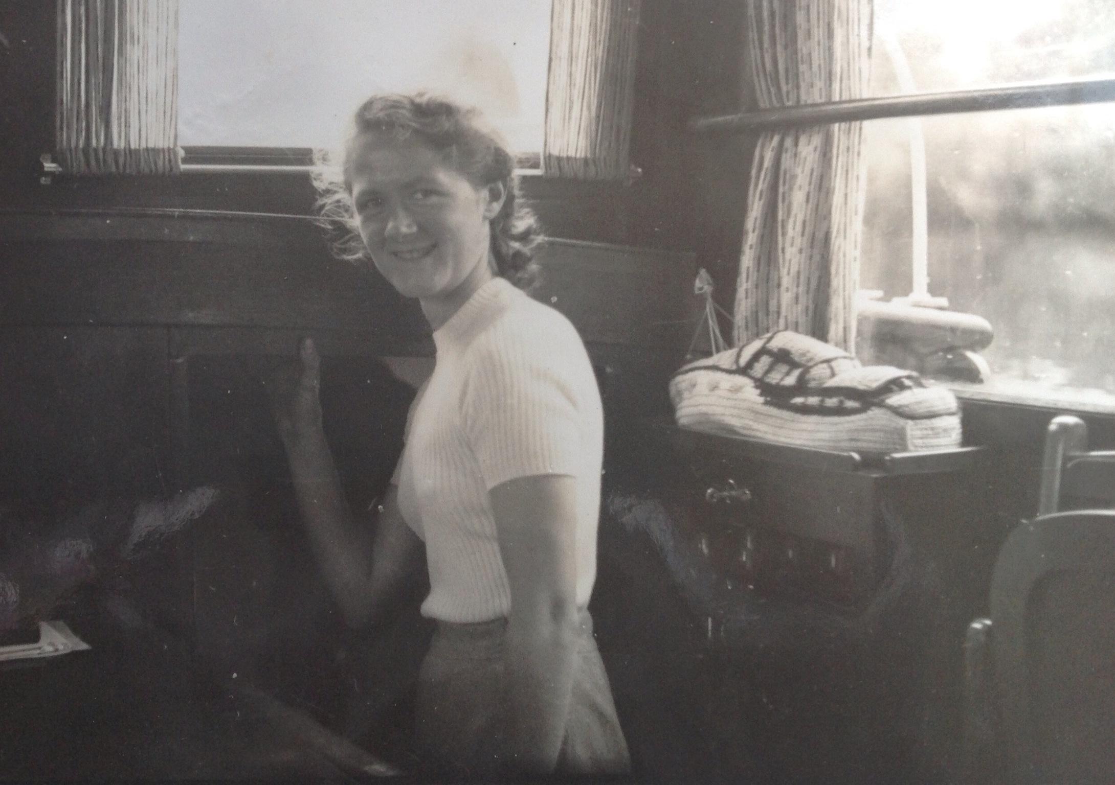 Mum inside Aquabelle's Wheelhouse.jpg