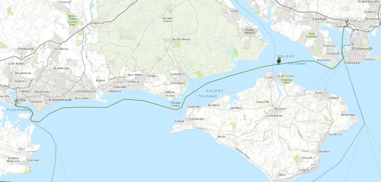 Leg 6: Port Solent to Poole Harbour