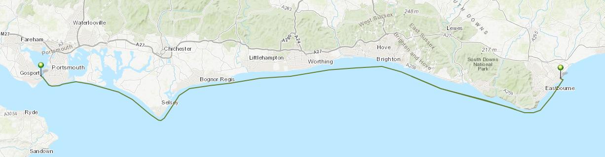 Leg 8: Gosport to Eastbourne