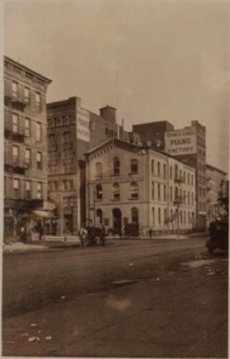 DeMilt Dispensary—First Mass in 1868