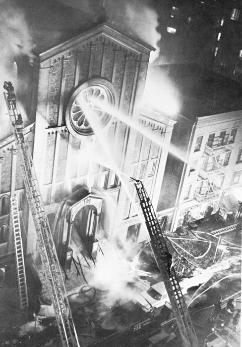 December 20, 1963 fire that destroyed the Church