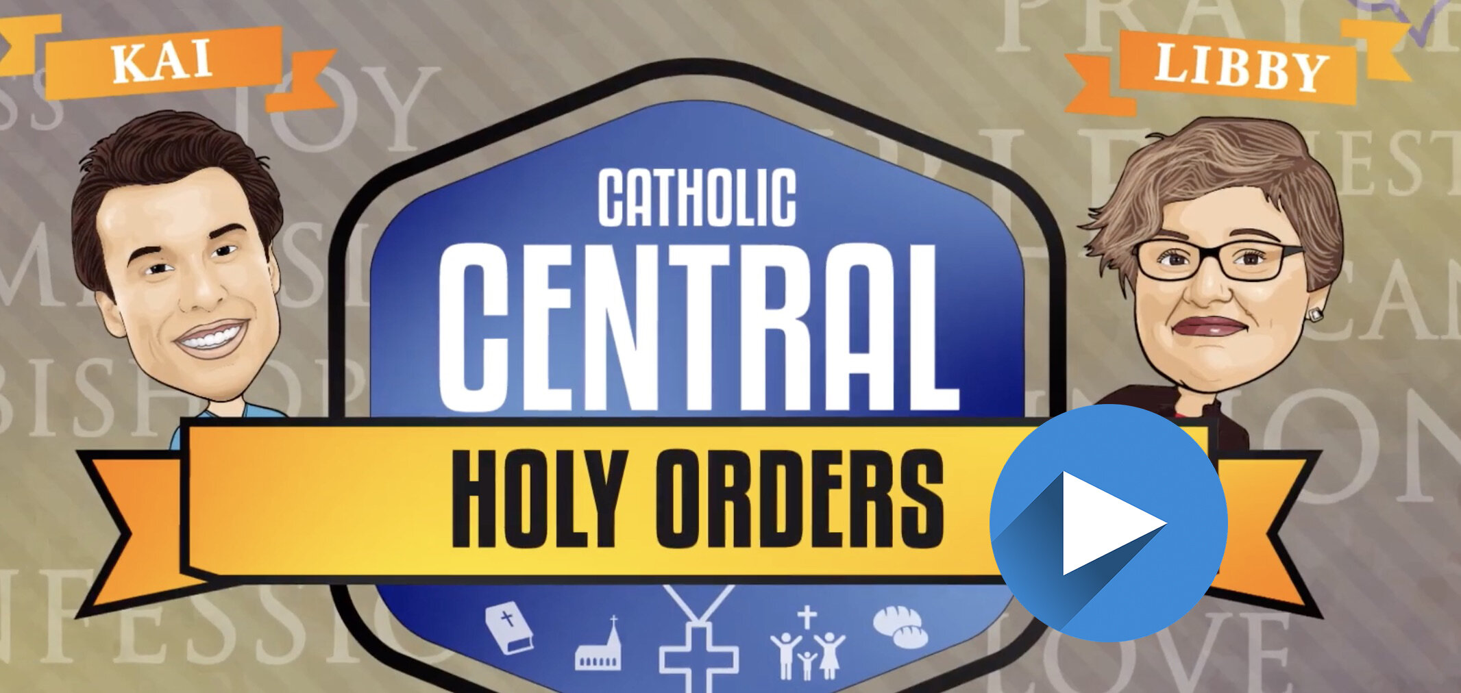 HOLY ORDERS VIDEO COVER with arrow.jpg