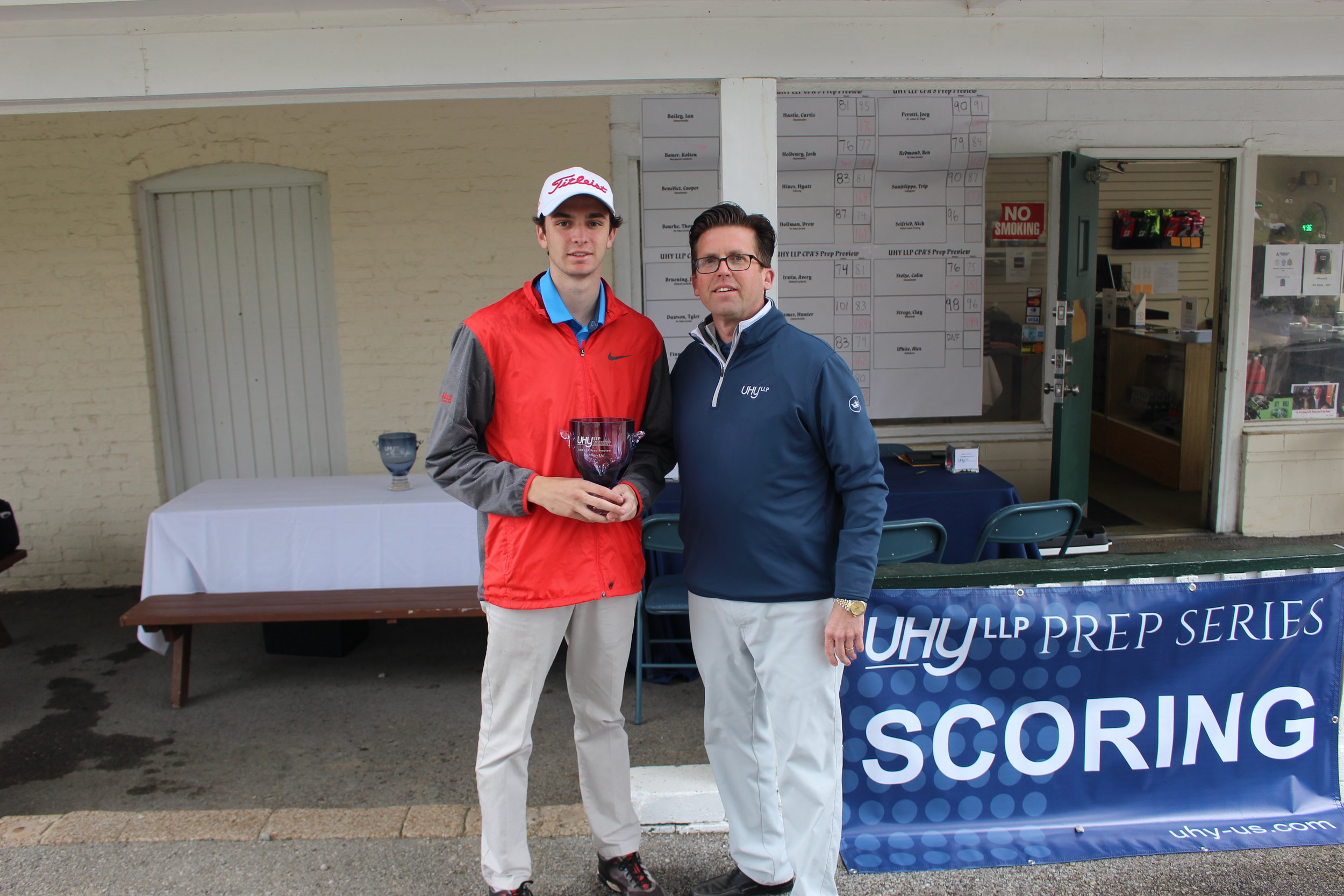 - Chaminade's Colin Stolze was the Runner-Up, shooting 76-75 for a 9 over par total of 151.