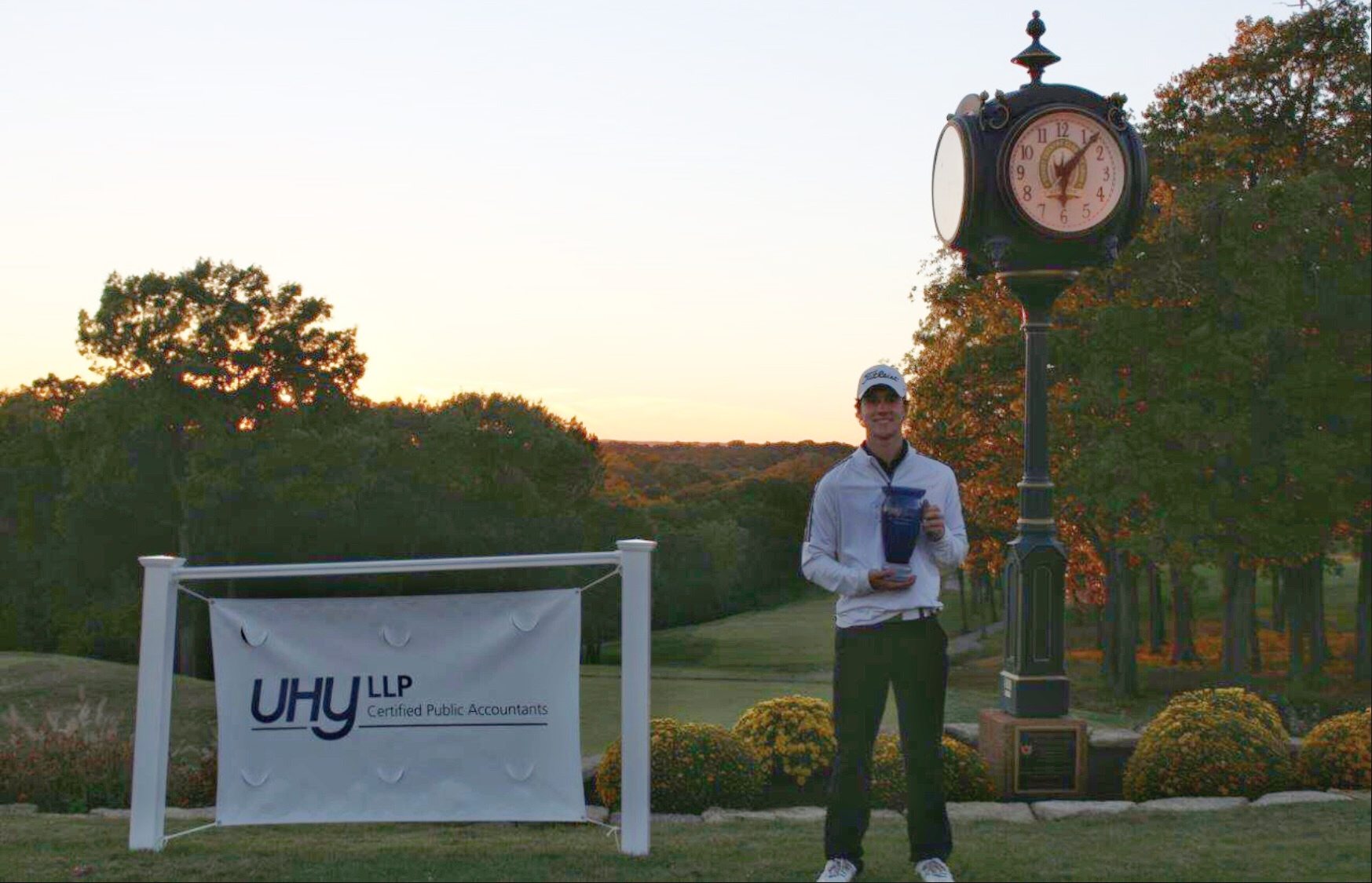 Lutheran South's Zach Shirley was champion shooting 74-71 for a one over part total of 145. Round 1 was played in extremely difficult conditions with 20+ mph sustained winds throughout the round.