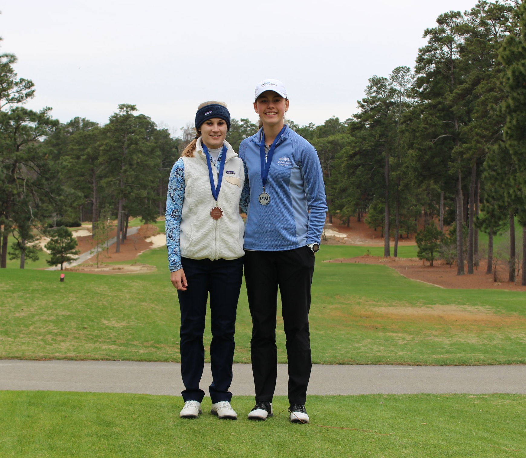 - Lilia Henkel (R) was the girls runner-up, shooting 82-89, while Grayson Warren (L) finished 3rd with a 84-88.
