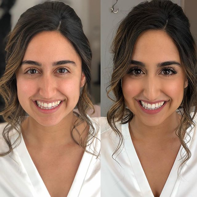 LASHES for DAYZZZZ!!! 🙌🏽✨😩Congratulations to my stunning bride, @kimiajoon !!! I absolutely LOVED working with you and your gorgeous bridal party!! 💍💕 #glamquibrides #bridalglam #dcmakeupartist #dmvmakeupartist #makeupmonday #beforeandafter