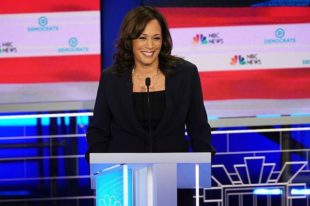 What an amazing week! Let the journey begin! #godisgood 👏🏽✨🙏🏽 #democraticdebate #kamalaharris . . Makeup: @glam_qui  Hair: @___jaggers
