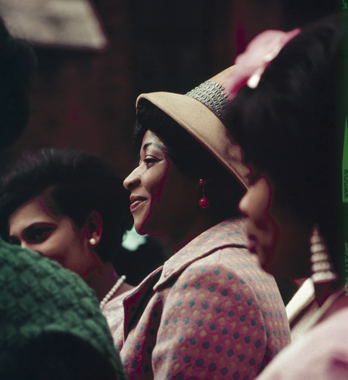 A Guest at a Ghanaian wedding, London, Kilburn, c. 1967-68.