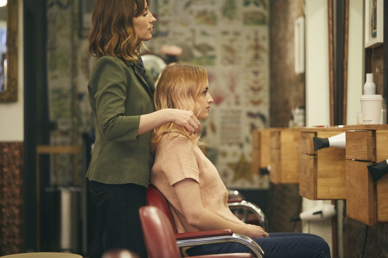 Amy Schiappa Master Hairstylist NYC. Owner of Fringe Salon NY & Fringe Salon BK