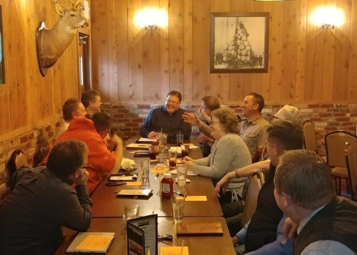 Great Lakes Pastors Discussing Ways For Us To Partner In Ministry