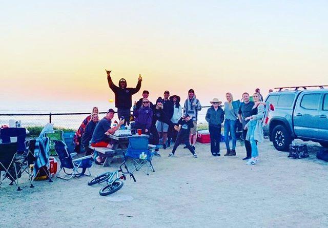 Happy bday to one good dude!  Love ya bro #birthday #beach #fire #sunset #thankful #gratitude @r_franny
