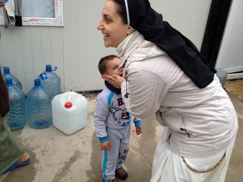 Bearing Witness, Being Church - After fleeing their home in Mosul, a congregation of sisters ministers to their fellow refugees.Written for Global Sisters Report.
