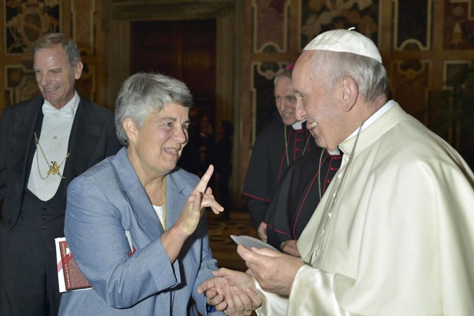 Sr. Kathleen Schipani - Kathleen created the first app that teaches the American Sign Language for words commonly used in Christian life.Written for Global Sisters Report.