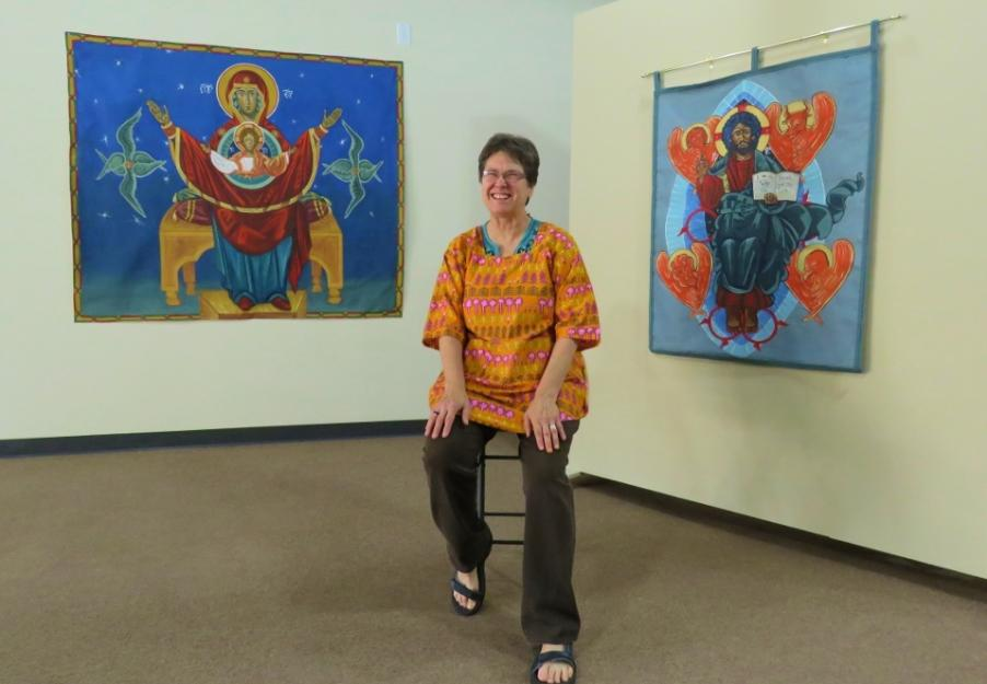 Sr. Glynis Mary McManamon - Glynis operates an art gallery in Ferguson, Missouri where she seeks to foster healing through divine images.Written for Global Sisters Report.