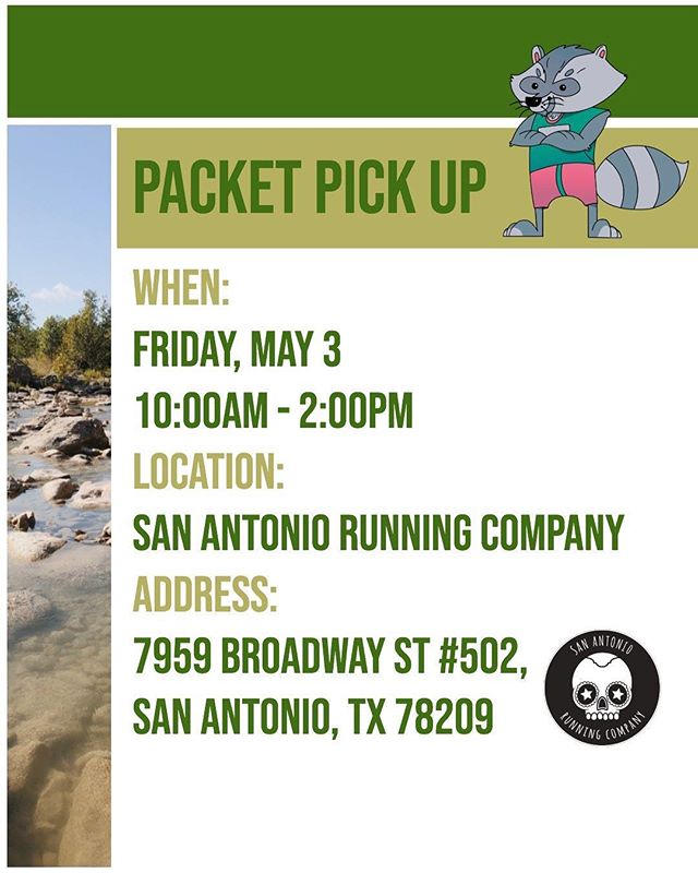 Packet Pick Up and Event Details