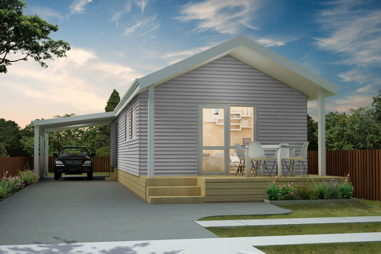 Marion - Single Bedroom | Gable Roof | Carport