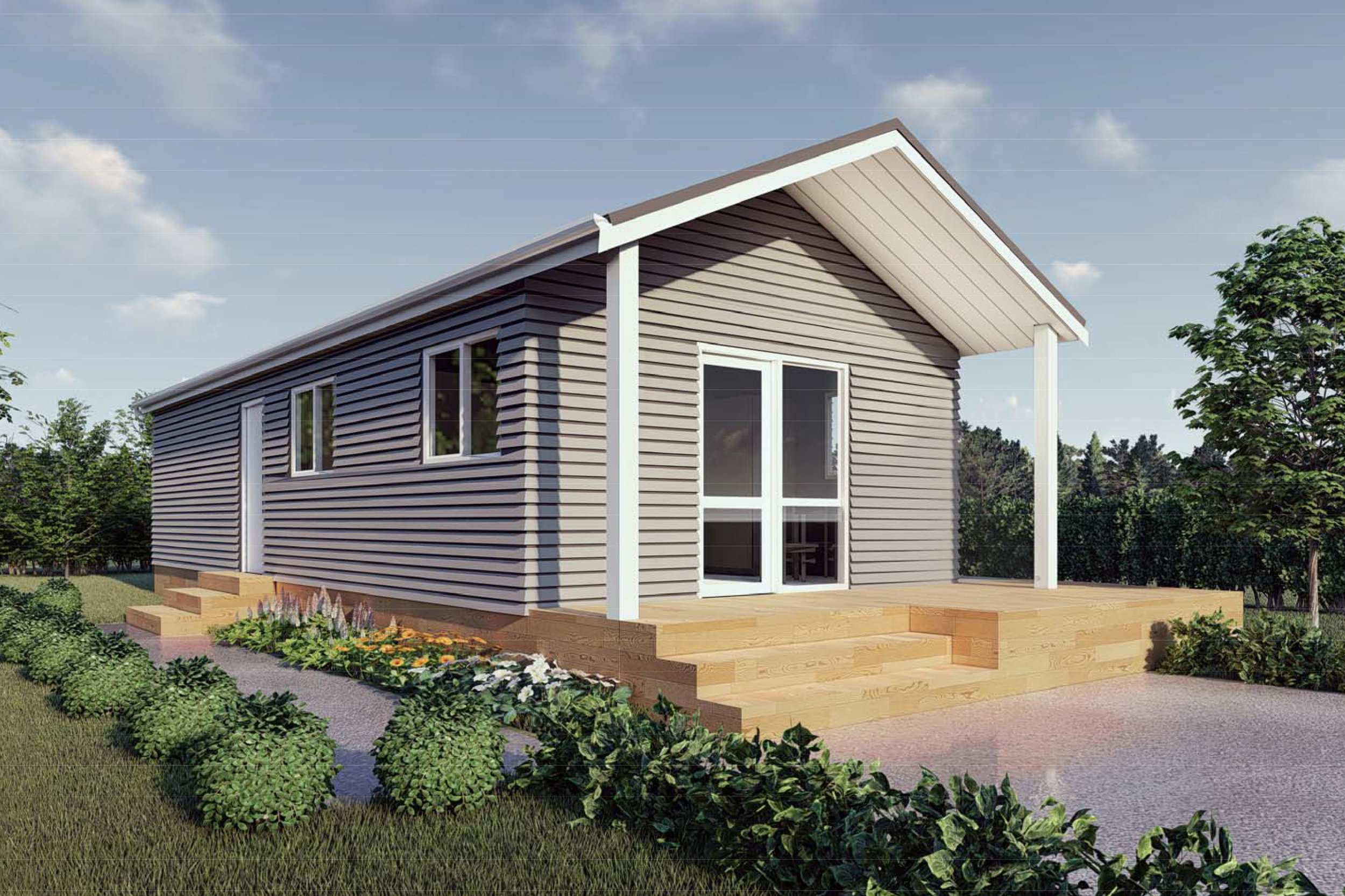 Dorothy - Two Bedroom | Gable Roof