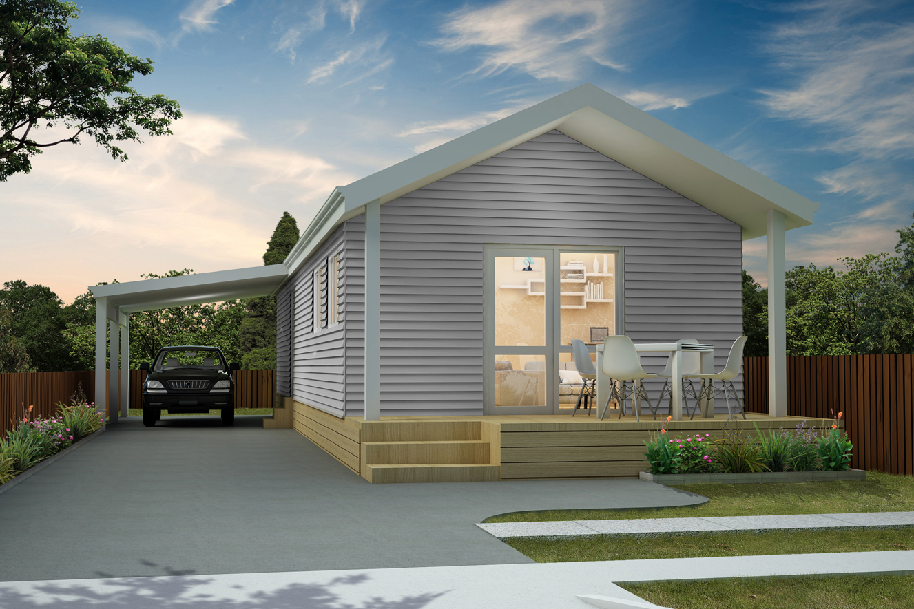 Francis - Two Bedroom | Gable Roof | Carport